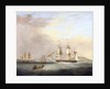 HMP Brig 'Sheldrake', Lt Passingham entering Falmouth harbour by Nicolas Matthew Condy