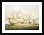 The ship 'Sir Edward Paget' (1822) by William John Huggins