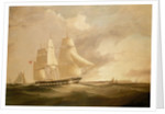 The ship 'Sir George Seymour' under way by W. Howard