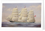 The tea clipper 'Thermopylae' by F.I. Sorensen
