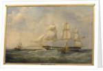 The East Indiaman 'Trafalgar' by William John Huggins