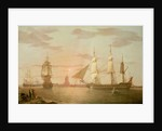 The East Indiaman ''Warley'' by Robert Salmon