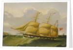 The barque 'William Fisher' by Joseph Heard