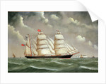 The barque 'Camphill' by Joseph Fannen