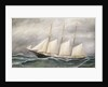 The schooner 'Robert Ingle Carter' by Solon Francis Montecello Badger