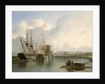 Shipping off Bristol by Joseph Walter