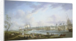 Greenwich from the Isle of Dogs by Robert Dodd