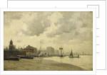 Greenwich ferry by E. Aubrey Hunt