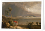 View of Malay Road from Pobassoo's Island, February 1803 by William Westall