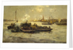 Limehouse Reach by Edmund Aubrey Hunt