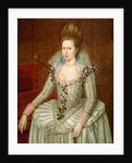Anne of Denmark, 1574 by John de Critz