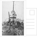 View aft from the forecastle of the Russian dreadnought battleship 'Volya' (1914), of the Imperatritsa Mariya class by unknown