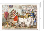 John Bull taking a Luncheon... by James Gillray