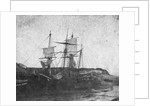 Vessels aground at low tide, Swansea by unknown