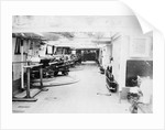 Photograph of gun deck on  HMS 'Severn' by unknown