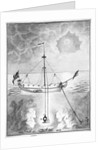 18th century diving apparatus by unknown