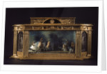 Diorama of the Battle of the Saints by unknown