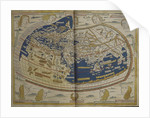 World map from Ptolemy's Cosmographia of 1492 by Ptolemy