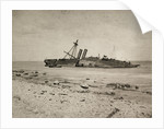 'Colombo' wrecked on Minicoy Island by unknown