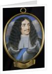 Charles II by Samuel Cooper