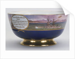 Minton china bowl, 1918, commemorating the surrender of the German High Seas Fleet by Minton