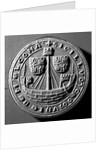 1st common seal of the town of Melcombe Regis, 1290-1305 by unknown