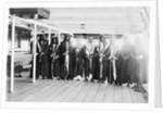 Deck scene aboard troopship RIM 'Hardinge' (1900) by unknown