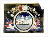 Embroidery of HMS 'Warrior' by unknown