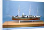 HMS 'Rattler', port broadside by unknown