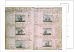 Pages from the journal kept by Nicholas Pocock aboard 'Betsey' in 1770 by Nicholas Pocock
