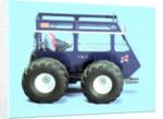 Tractor model by Kelvin Thatcher