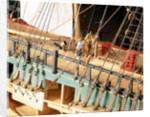 'Endeavour', deck detail, wheel by Robert A. Lightley