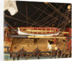 'Endeavour', deck detail, yawl by Robert A. Lightley