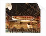 'Endeavour', deck detail, yawl by Robert A. Lightley