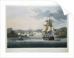 The Harbour of Port Cornwallis, Island of Great Andaman with the Fleet getting under Weigh for Rangoon by J. Moore