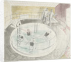 The Submarine Series: Testing Davis diving apparatus by Eric Ravilious