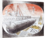Submarine Series: The Whitstable Mine by Eric Ravilious