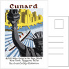 Cunard Cruise Line Poster, New York by unknown