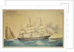 Clipper ship 'Walmer Castle' by Thomas Goldsworth Dutton