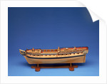 Model of a warship (1794), frigate, fifth rate, Diana class, 38 guns by unknown