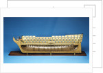 Model of 'Caledonia' (1808), 120 guns, three decker ship of the line by Robert Seppings