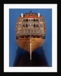 'Royal George', dead astern by Thomas Burroughs