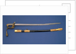 Solid half-basket hilted sword by Widdowson & Veale