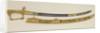 Presentation sword of Admiral Sir John Duckworth by R. Teed