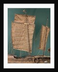 Chinese Junk, mainmast by unknown