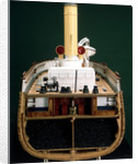 'Discovery', midships, cross-sectional view by Severn-Lamb Ltd