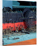 Topographic model, John Scott Russell's shipyard, 'Great Eastern' under construction by Michael K. Buxton