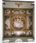The Great Hall painted ceiling in the Queen's House by unknown