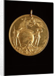 Capture of 'Louisbourg' Medal 1758 by T Pingo