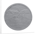 Royal Geographical Society Medal: Shackleton's Antarctic Expedition 1907-1909 by Gilbert Bayes